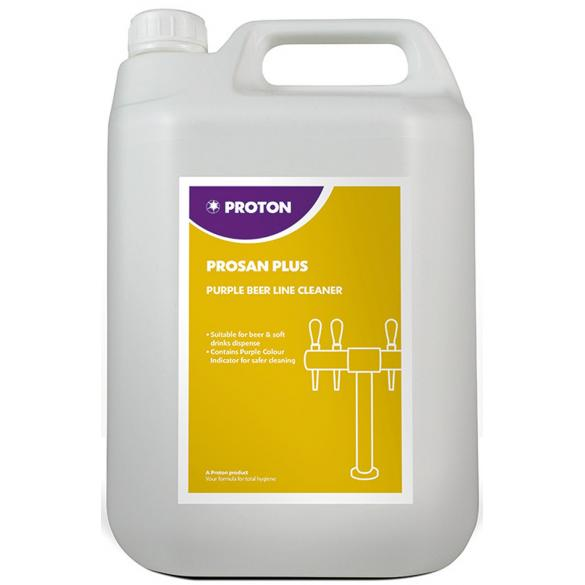 Prosan plus purple beer line cleaner 5l