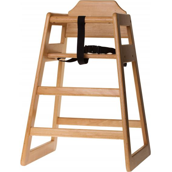 Natural high chair pre assembled