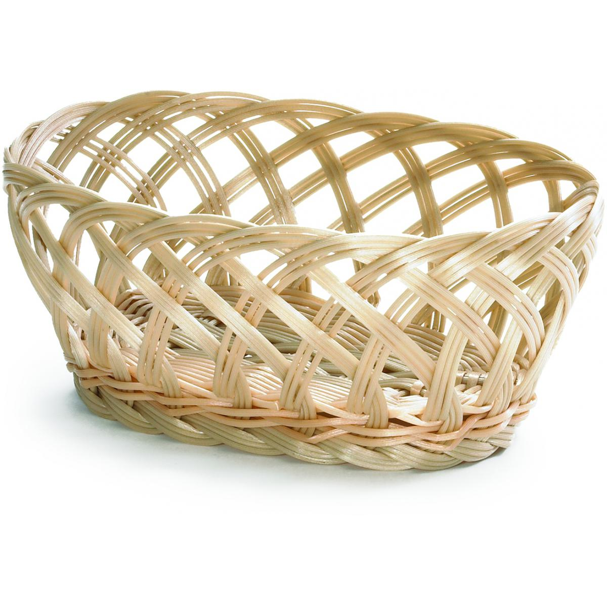 Basket Weaving Supplies Uk : Handwoven oval basket open weave noble express