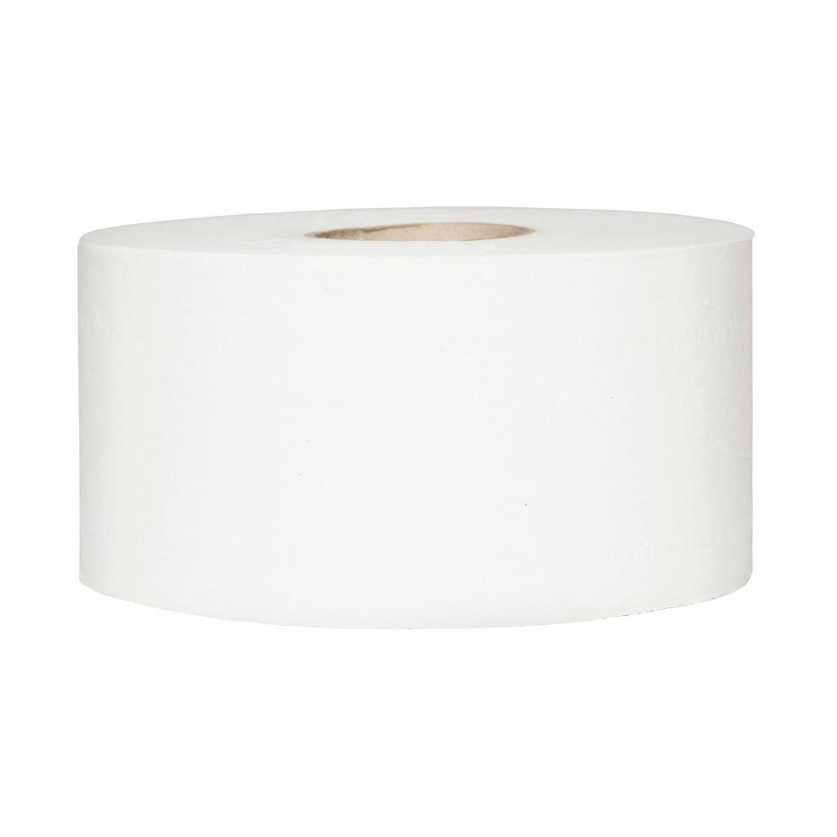 Tork Mini Jumbo Toilet Roll Dispenser White Noble