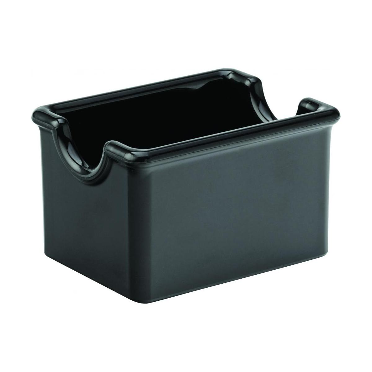 black melamine sugar packet holder 3. Black Bedroom Furniture Sets. Home Design Ideas