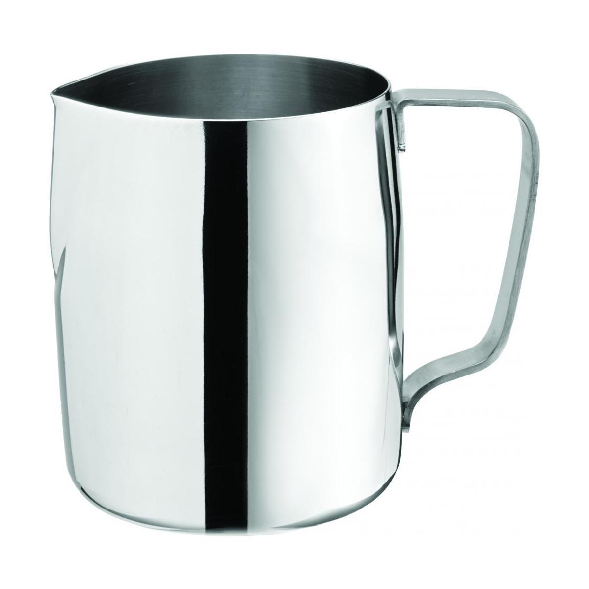 stainless steel milk frothing jug 14oz 41cl noble express. Black Bedroom Furniture Sets. Home Design Ideas