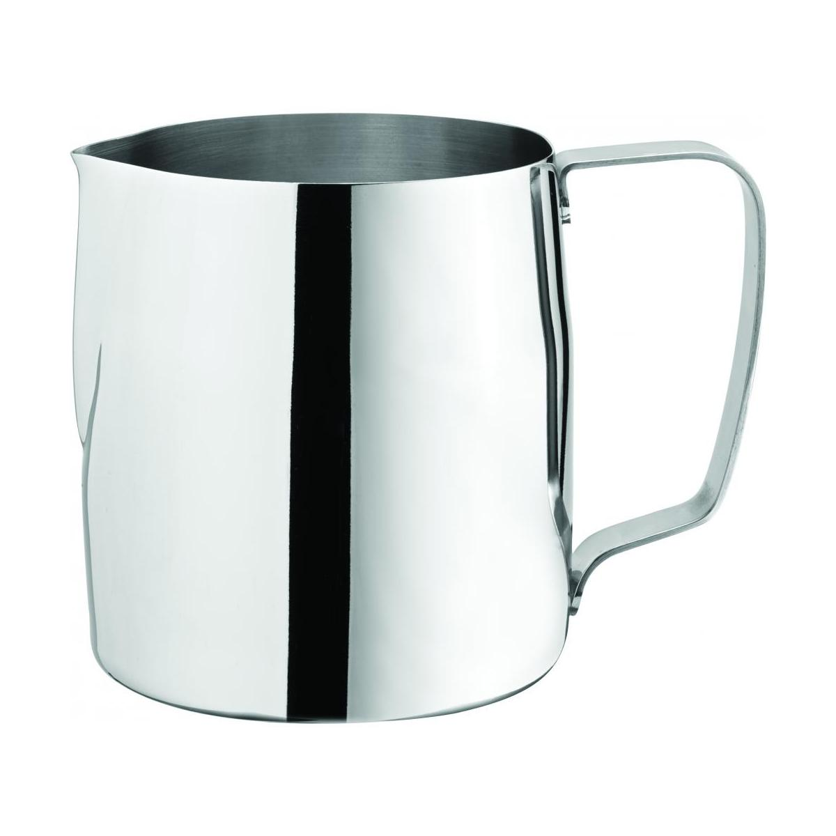 stainless steel milk frothing jug 35oz 98cl noble express. Black Bedroom Furniture Sets. Home Design Ideas