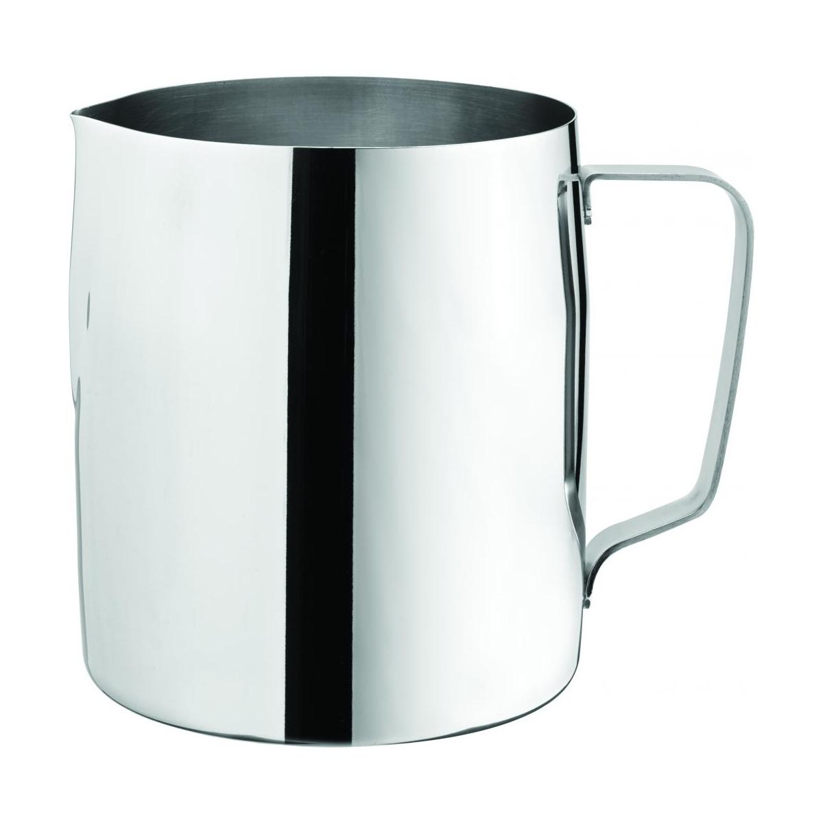 stainless steel milk frothing jug 58oz 165cl noble express. Black Bedroom Furniture Sets. Home Design Ideas