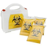 Biohazard kit clean up 5 treatment packs