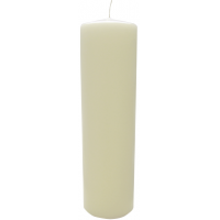 Bolsius pillar candle ivory 70mm diameter 250mm tall