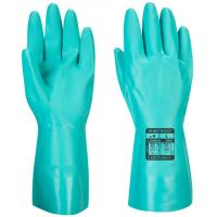 Chemical gauntlet nitrosafe 33cm green large