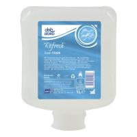 Deb stoko refresh clear foam gentle foam hand wash cartridge 1l