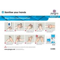 Jangro guide to hand sanatising chart a4