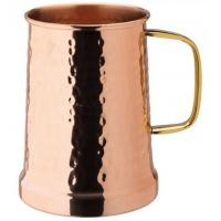 Copper hammered tankard 21oz 60cl