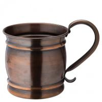 Aged copper barrel mug 19oz 54cl