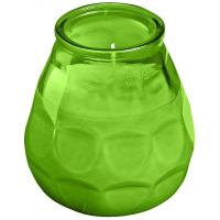 Bolsius twilight glass candle green