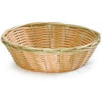 Handwoven round basket natural 17 75x5cm