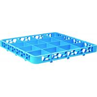 16 compartment glass rack extender blue