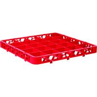 25 compartment rack extender red