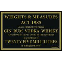 25ml whiskey gin vodka rum 170x110mm