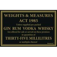 35ml whiskey gin vodka rum 170x110mm