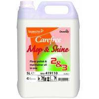Carefree mop shine floor polish 5l