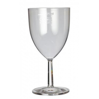 Clarity wine glass 7oz lce 175ml reuseable