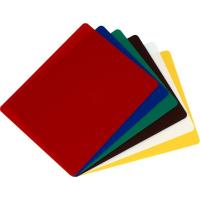 6 colour flexible chopping board set