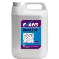Ocean blue revitalising hand hair and body wash 5 litre