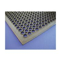 Black rubber kitchen mat 90 x 150 x 1 4cm