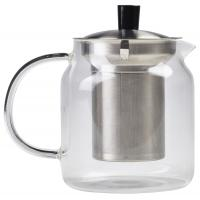 Glass teapot with infuser 70cl 24 75oz