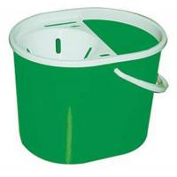 Lucy oval 7 litre mop bucket green