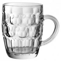 Dimple beer tankard 57cl 1 pint ce
