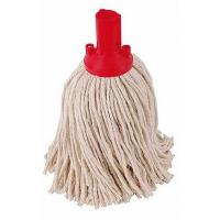 Excel push fit mopping system red yarn mophead no 12 200g