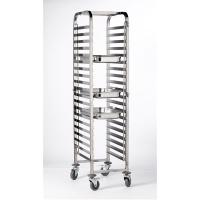 Stainless steel gastronorm 1 1 trolley 20 shelves