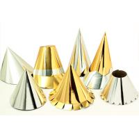 Silver and gold party hats