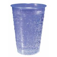 7oz blue bubble water cup