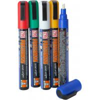 Liquid chalk markers by zig posterman assorted colours 6mm nib