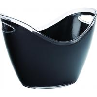 Utopia_barware_small_champagne_bucket_black_27cm_10_5
