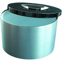 Ice bucket brushed aluminium effect 10l 21 pint