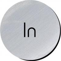 In silver metallic door disc 3