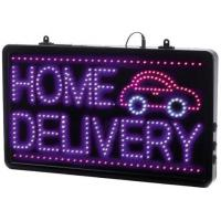 Led home delivery sign 13x22x1 6