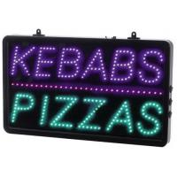 Led kebabs pizzas sign 13x22x1 6
