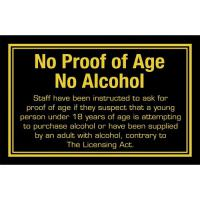 Proof of age sign 4 3x7