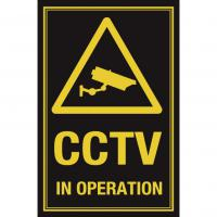 Cctv in operation sign 10x7