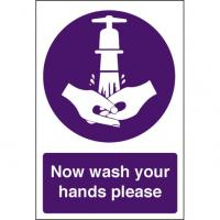 Now wash your hands please 8x12