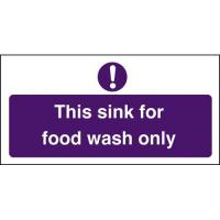 This sink for food wash only 4x8