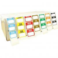 Day dot dispenser unit with labels 7 day set