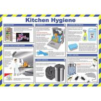 Kitchen hygiene poster 23 2x16 5