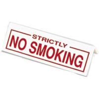 No smoking table sign 6x1x1 25