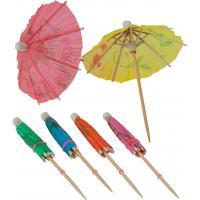 Cocktail pick paper parasol umbrella