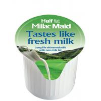 Millac maid half fat milk portion green 14ml