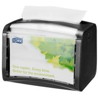 Napkin dispenser tork xpressnap counter top black