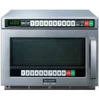 Sharp 1900w commercial microwave oven r1900m
